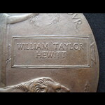 UNIQUE MEMORIAL PLAQUE to 2nd LIEUT William Taylor HEWITT. To France 14/1/18 & served 36th MGC-IN...