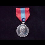 EiiR IMPERIAL SERVICE MEDAL  (DEI.GRATIA) to HECTOR HENRY GEORGE BURT from Chatham, Kent - Gazett...