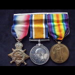 1914 TRIO to 18547 DVR / SPR William STEVENS R.E. who served in France from 8/9/14 with the 12th ...