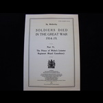 SDGW Part 71: The Prince of Wales's Leinster Regiment (Royal Canadians) - Post Free in the UK