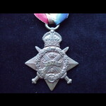 1914 STAR to 165243 PTE John Alec PETTIFER 1/1st NORTH SOMERSET YEOMANRY.  To France 12/11/14 Suf...