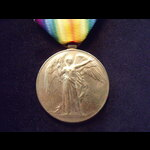 VICTORY MEDAL to 7539 PTE John CRANE  ROYAL SCOTS FUSILIERS. To France 3/12/14 & served on the We...