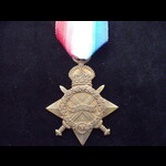 1914/15 STAR to 1285 PTE Dennis H.HIORNS 1/3rd COUNTY OF LONDON YEOMANRY 'Sharpshooters' who serv...