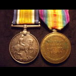 BWM & VICTORY MEDAL to 2nd LI. | Great War Medals