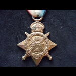 1914 STAR to 140 PTE Eric Jatinga BRADLEY 1/5th LONDON REGT from Suckley, Worcs. Educated at Bren...