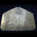 BRASS BEDPLATE - PTE SNEDDON, BLACK WATCH