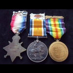 1914 TRIO to T-19393 DVR D. C. | Great War Medals