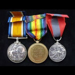 BWM, VICTORY & GviR IMPERIAL SERVICE MEDAL to PTE Alexander Hugh ROSS  7th Queen's (Royal West Su...