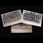 3 x ORIGINAL SEPIA 'REAL PHOTOGRAPH' POST CARDS of the HONOURABLE ARTILLERY COMPANY in WW1: 'Pris...
