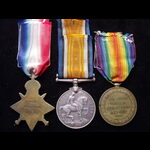 1914 TRIO to L-12308 PTE Alfr. | Great War Medals