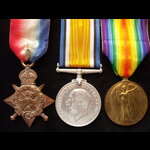 1914 TRIO to 46382 GNR / CPL Francis TEAGLE R.F.A. To France 26/8/14 as a Gunner with Base Detail...