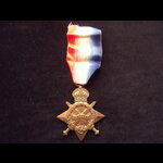 1914/15 STAR to 10737 PTE Frederick William ATKINSON 8th CHESHIRE REGT who landed on V Beach, Cap...