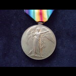 VICTORY MEDAL to TR4-64452 PTE John Thomas JOBSON, SOUTH WALES BORDERERS. First served in the 52n...