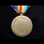 VICTORY MEDAL to 3174 Riflema. | Great War Medals