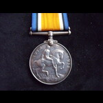 BRITISH WAR MEDAL to 7991.S William John TIPPETT STO. R.N.R. from Swansea who served on Light Cru...