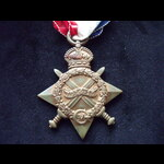 1914/15 STAR to 6271 PTE James Henry TURNER 1st BORDER REGT. Born Ancoats, Manchester & lived in ...