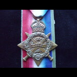 1914 STAR to 9392 PTE William GRIGG 2nd HIGHLAND LIGHT INFANTRY who served in France from 12/9/14...