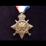 1914/15 STAR to 1570 PTE Scott GRAY A.& S.HIGHRS. To France 15/12/14 with 1/7th Battalion T.F. Wo...