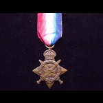 1914 STAR to 7371 PTE Elijah (Elizah) CLIFFORD 1st GLOUCESTERSHIRE REGT. Born Nailsworth, Gloucs ...