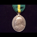 EviiR TFEM to 664 PTE T. PARSONS 5th MANCHESTER REGT. His medal was announced in Army Orders of J...