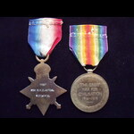 1914 STAR with ORIGINAL '5th . | Great War Medals