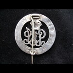 SILVER WAR BADGE to PTE William Ernest HARDY 5th MIDDLESEX REGT - his sole WW1 entitlement