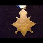 1914 STAR to 7690 PTE Charles. | Great War Medals