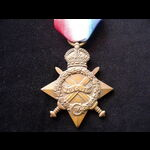 1914/15 STAR to 1932 PTE Alfred W. LENNARD R.SUSS.REGT. Served in France from 18/2/15 with 2nd Ro...