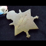 1914 STAR to 8925 PTE Albert George FRANKLIN 1st WILTSHIRE REGT. Born & lived in East Kennett, Wi...
