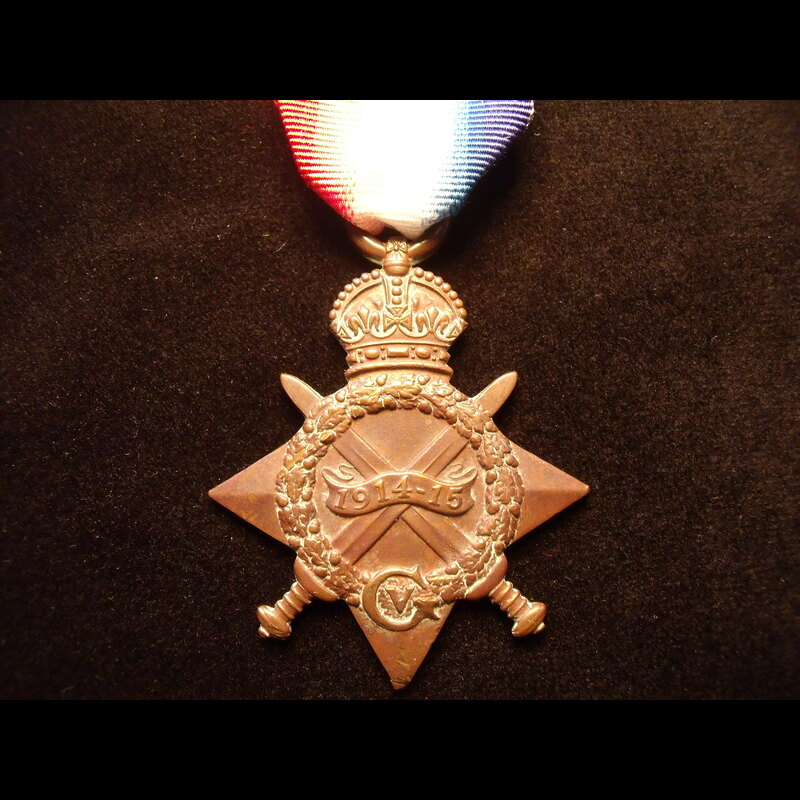 1914/15 STAR to 20903 PTE Cha. | Great War Medals