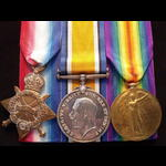 1914/15 TRIO to LIEUT Lloyd Holford JONES 16th LANCASHIRE FUSILIERS. To France as PS-2887 CPL, 21...