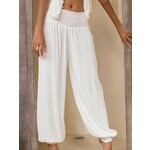 The Aladdin Pants In Ivory cr. | EmAsia Designs