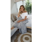 Lucy Maxi Skirt in Charcoal &. | EmAsia Designs