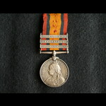 QSA 3 Clasp Pte Lewis 3rd Hussars Very Bad Lad