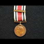 GVI Special Constabulary Long Service Medal clasp 1943 Charles Raymond