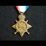 1914/15 Star Pte Collier 19th Welsh Regt