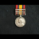 QSA 4 clasp (missing 1) Bugler Donoghue 9th Kings Royal Rifle Corps