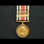 EII Special Constabulary Long Service Medal clasps 1956 & 1961 Harold Trungrove