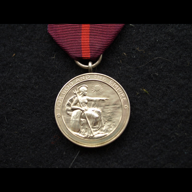 Gallantry MBE L/Cpl Cantrill .   Charlies Medals