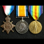 1914/15 Trio Sapper Tranter 3rd Anglesey Field Company Royal Engineers