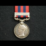 Indian Medal clasp Northwest Frontier Pte Phillips 3rd Rifle Brigade