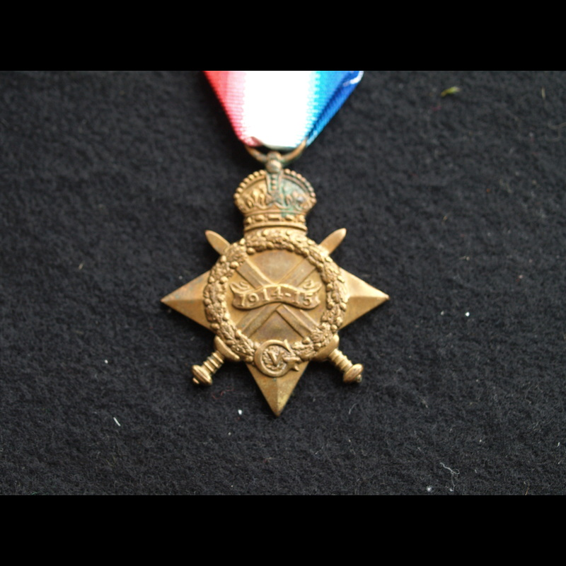 1914/15 Star Pte Thomas 19th .   Charlies Medals
