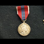 1953 Coronation Medal with mounting clasp