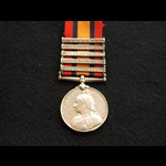 QSA 5 clasp Pte Sargent 2nd Royal Warwickshire & WW1 174th Tunnelling Coy