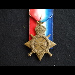 1914/15 Star Pte White E Coy 6th Welsh Regt SWB kicked by horse